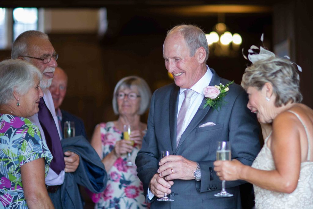 Stanton House Hotel, Bride Groom Guests Laughing