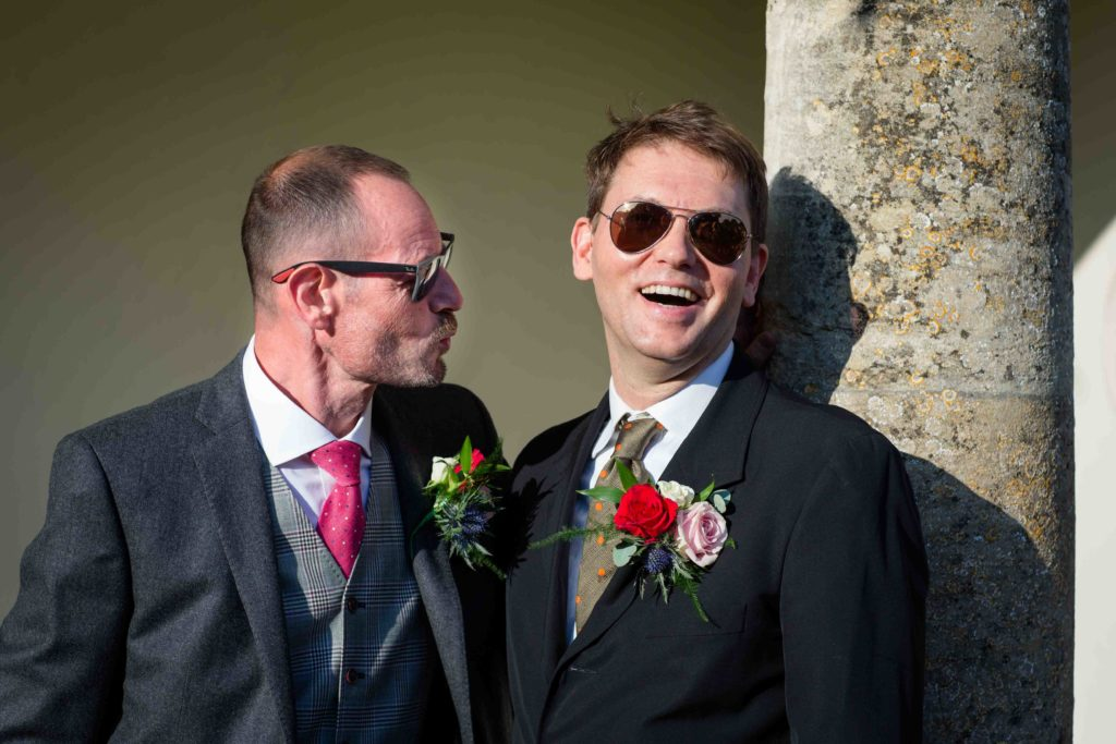 Barnsley House Wedding Best Man