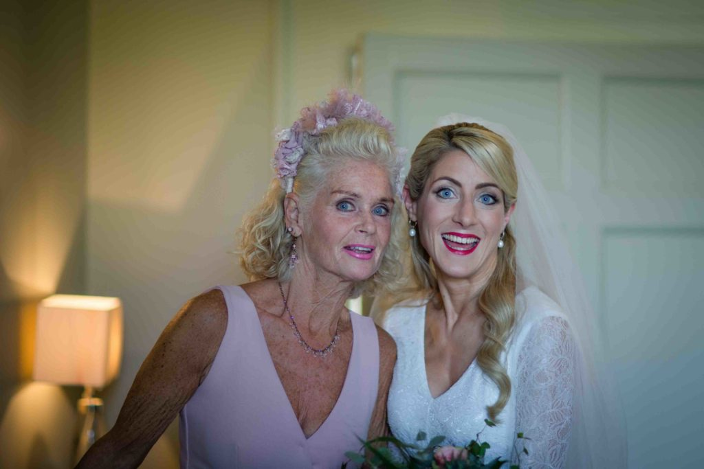Barnsley House Wedding Bride Mother