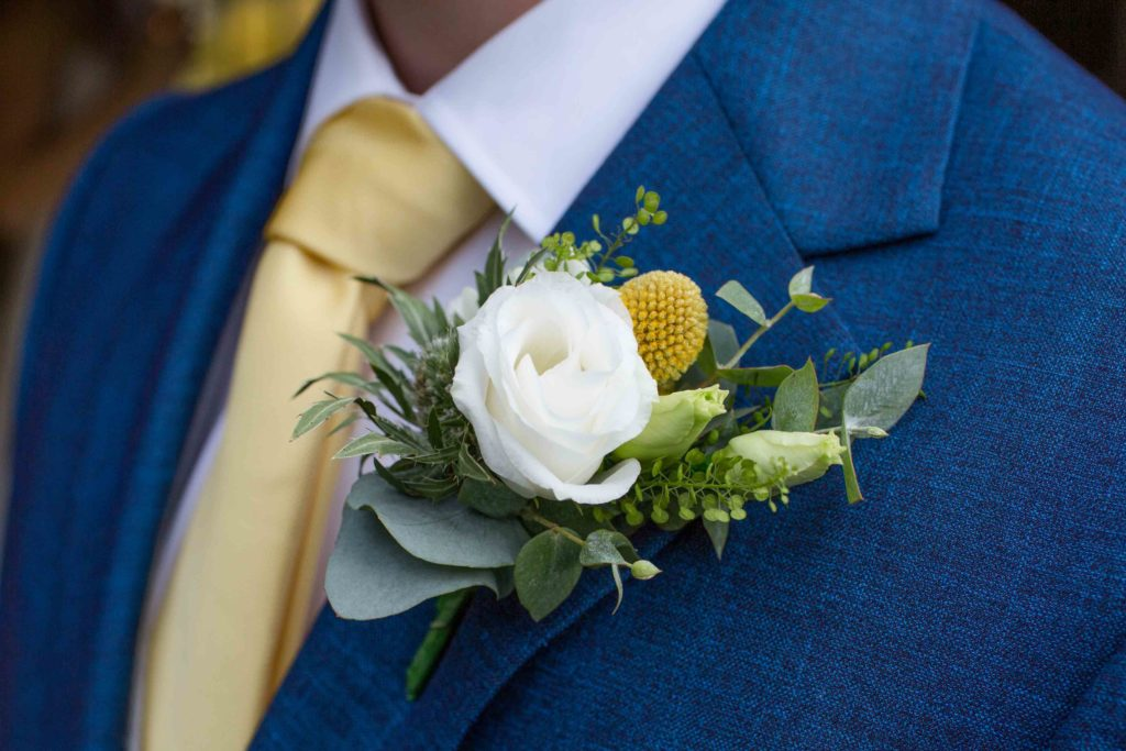 Caswell House, Oxfordshire, Groom ButtonHole