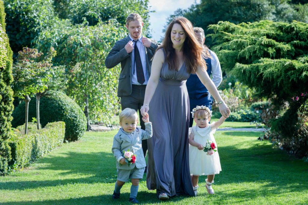 Barnsley House Wedding Maid Honour Children