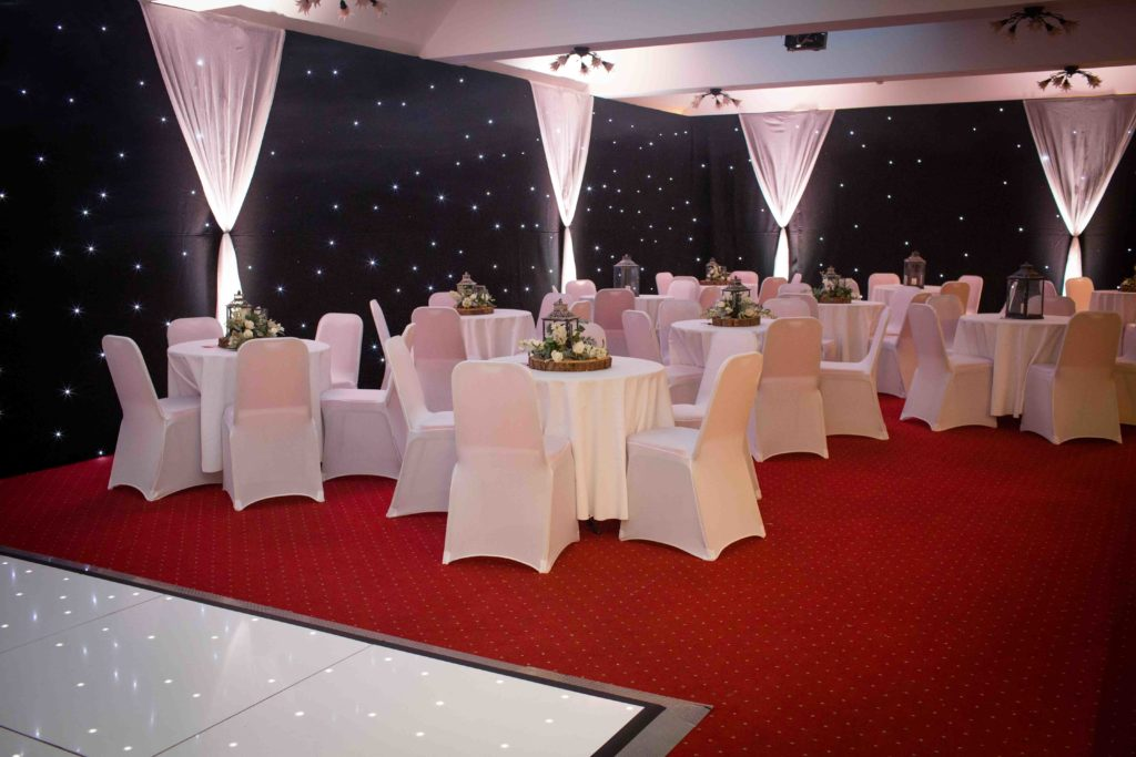 Stanton House Hotel, Wiltshire, Dance Area, Tables