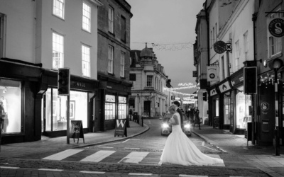 A Kings Head Hotel, Cirencester, Winter Wedding