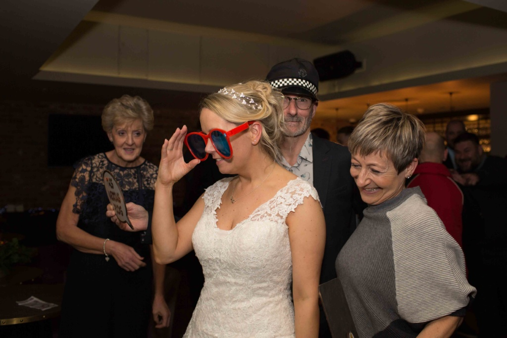 Kings Head Hotel Cirencester Bride Funny Glasses