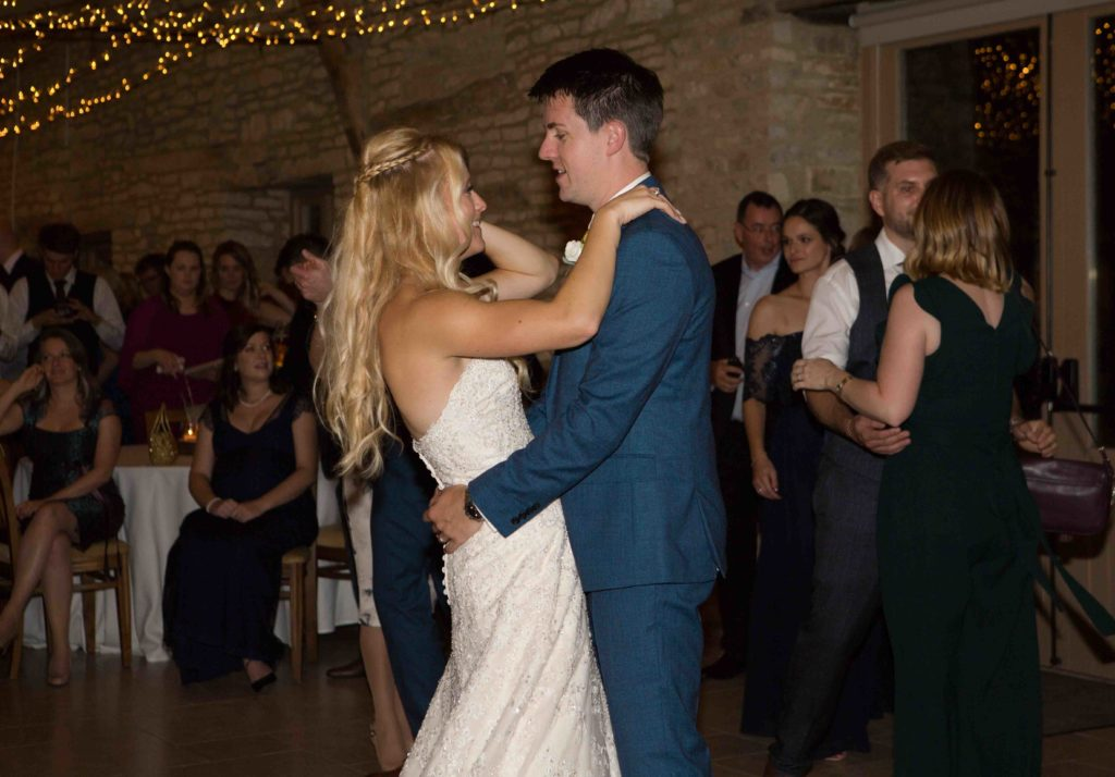 Caswell House, Oxfordshire, Bride Groom Dancing Chatting
