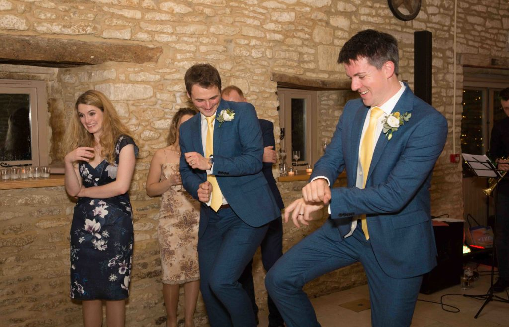 Caswell House, Oxfordshire, Groom Bestman Dancing