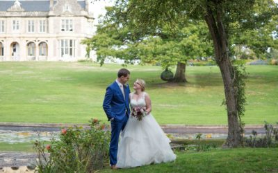 October Wedding at Clevedon Hall, Somerset